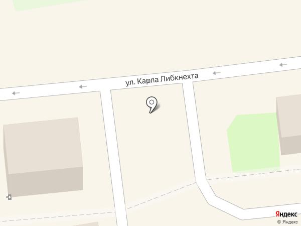 Акконд на карте Ульяновска