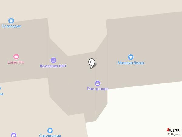Фемида на карте Ульяновска