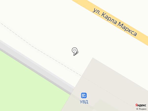 Киоск по продаже цветов на карте Ульяновска
