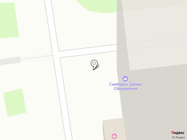 ГозЗайм, КПКГ на карте Ульяновска