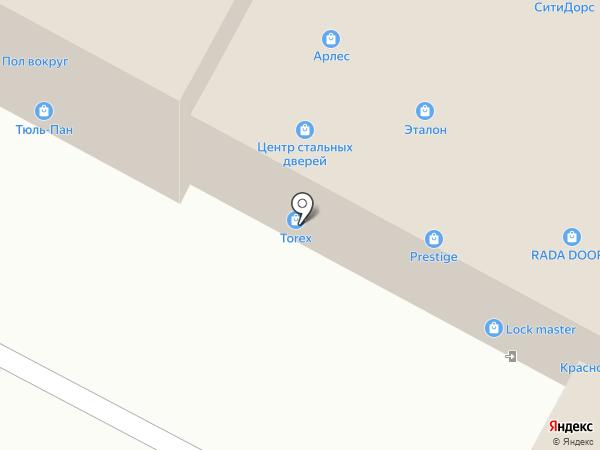Baum door на карте Ульяновска
