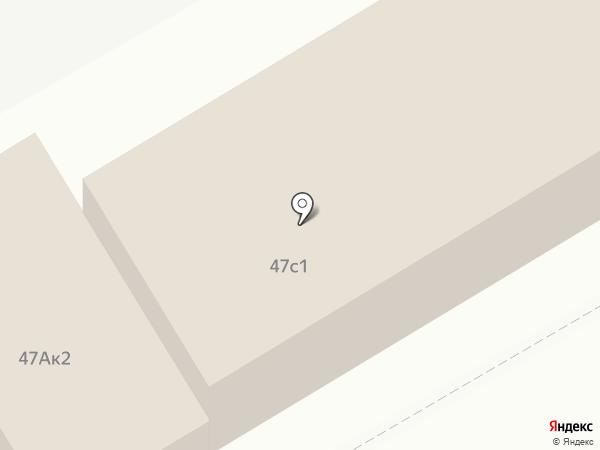 Пункт технического осмотра на карте Ульяновска