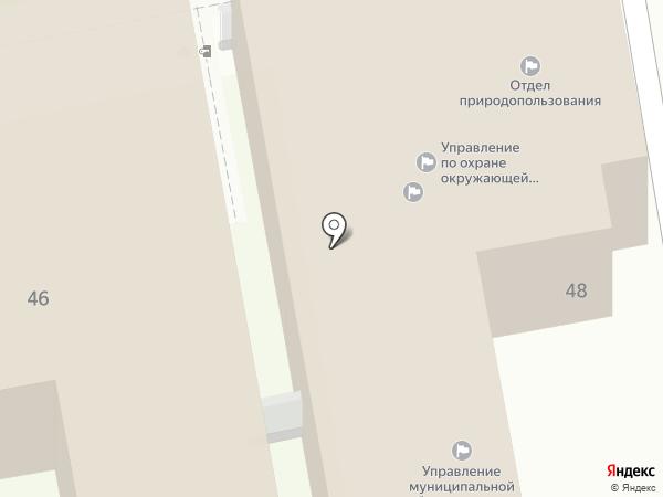Комитет ЖКХ на карте Ульяновска