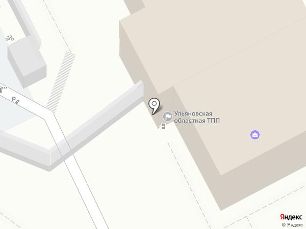 ЭКСО ТПП-УЛЬЯНОВСК на карте Ульяновска