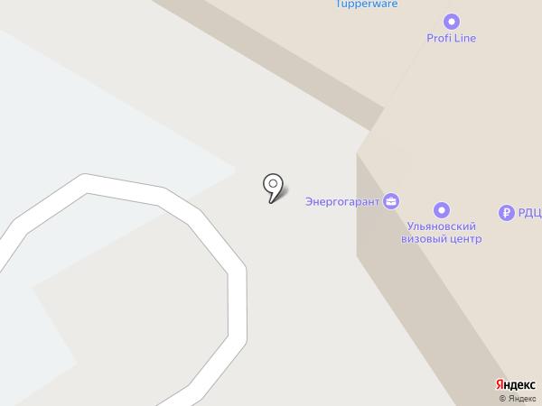 Ульяновский Визовый Центр на карте Ульяновска