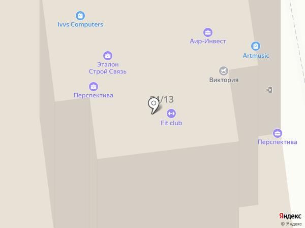 Центр семейного здоровья на карте Ульяновска