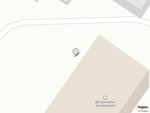 Департамент ветеринарии Ульяновской области на карте Ульяновска