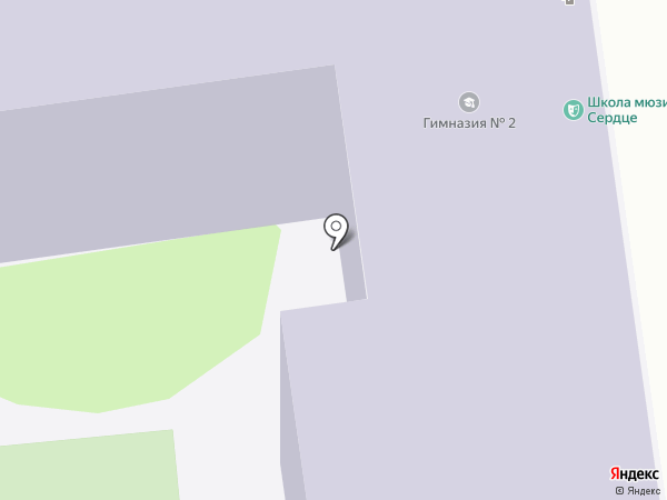 Сердце на карте Ульяновска