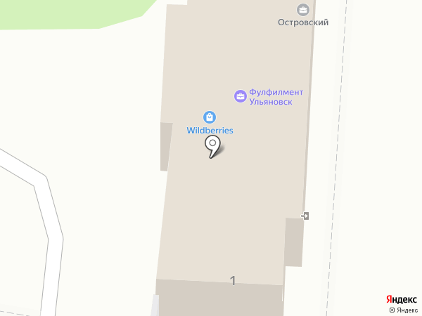 СимбирскСтройИнвест на карте Ульяновска