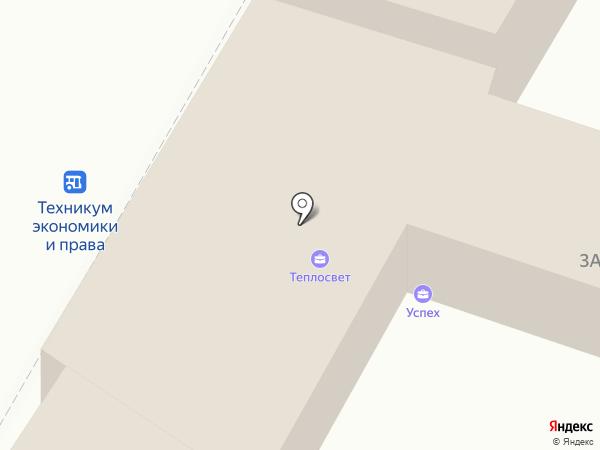 Успех на карте Ульяновска
