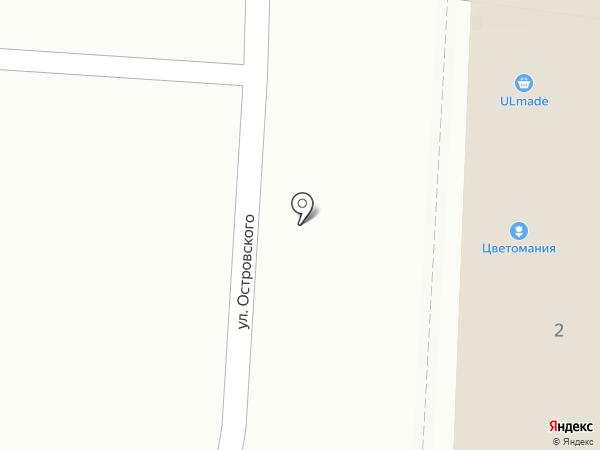 Ольга на карте Ульяновска