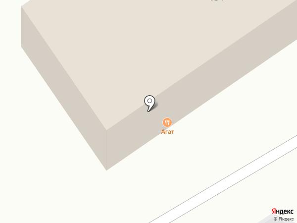 Агат на карте Ульяновска