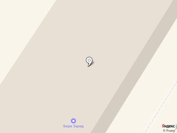 Зелёный участок на карте Ульяновска