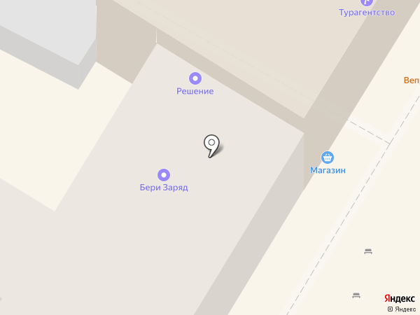 Салон красоты на карте Ульяновска