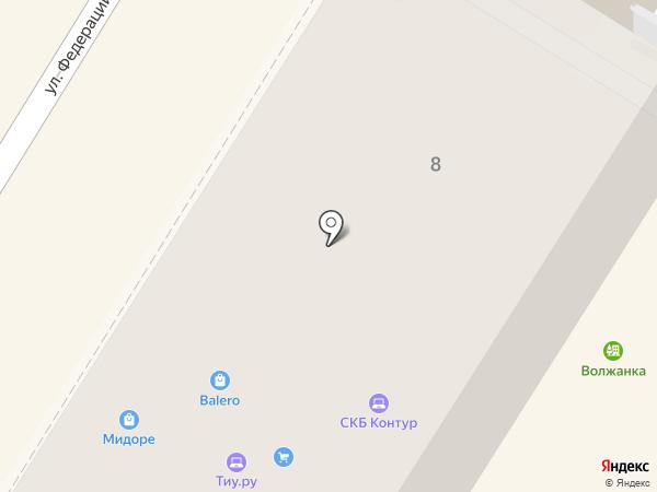 Like на карте Ульяновска