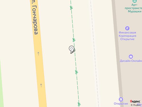 Анекс Тур на карте Ульяновска