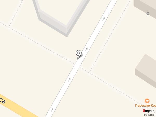 Перекати кофе на карте Ульяновска