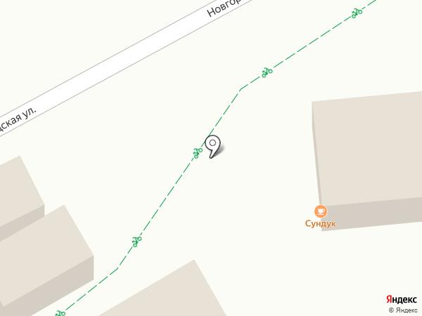 Советская пельменная на карте Ульяновска