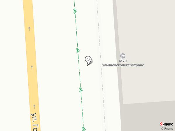 Управление Федеральной антимонопольной службы по Ульяновской области на карте Ульяновска