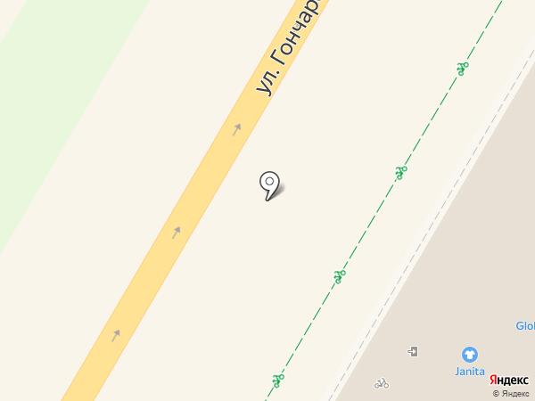 Креаполье на карте Ульяновска