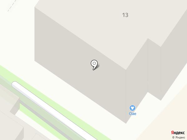 Century 21 Венец на карте Ульяновска