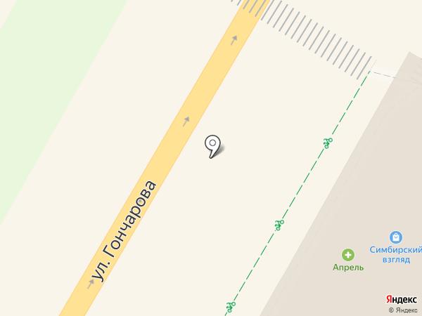 585 GOLD на карте Ульяновска