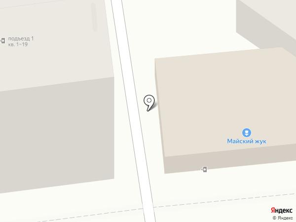 У Розы на карте Ульяновска