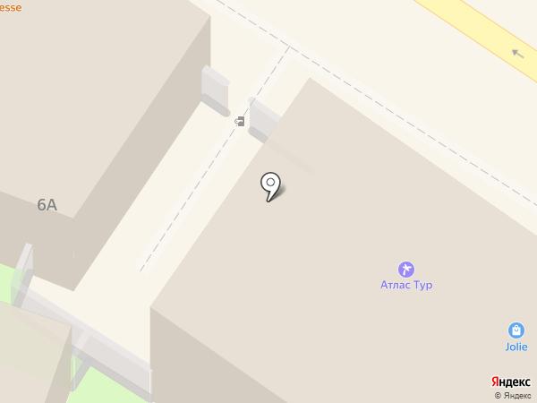 Авоська на карте Ульяновска