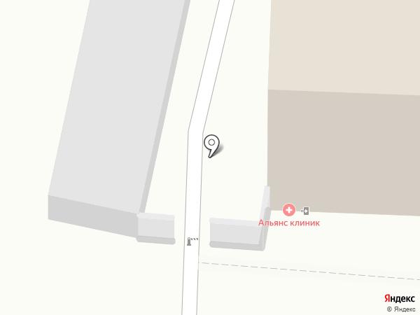 Универсал на карте Ульяновска