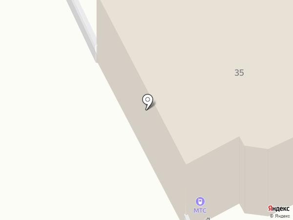 МТС на карте Ульяновска
