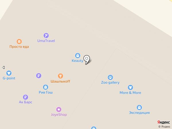 ЮвеЛия на карте Ульяновска