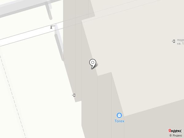 Двери Лэнд на карте Ульяновска