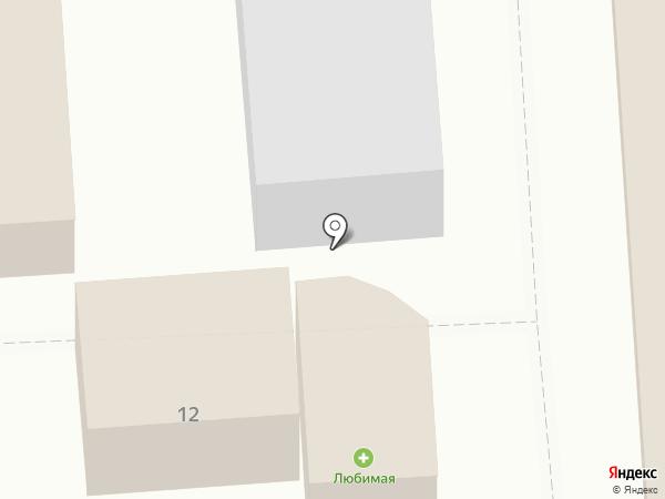 Де Аль на карте Приволжского