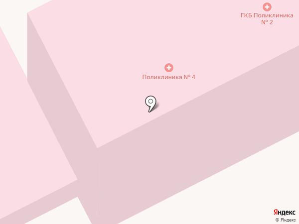 Дневной стационар терапевтического профиля на карте Ульяновска