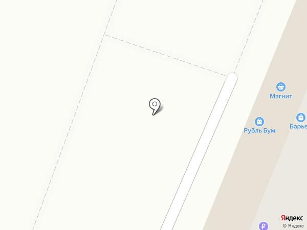 Жирафик на карте Ульяновска