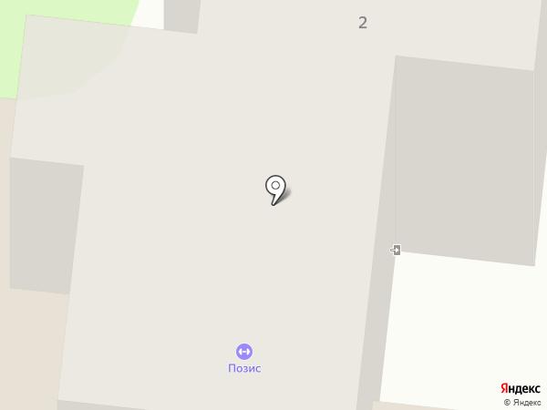 Позис на карте Зеленодольска