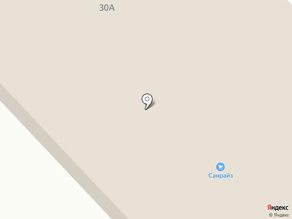 Санрайз на карте Зеленодольска