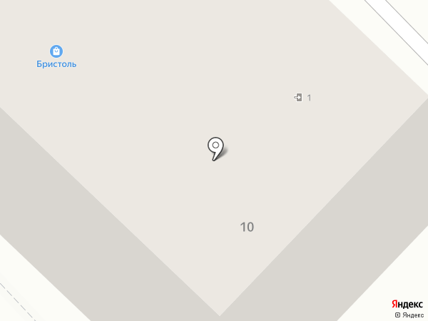 Постелька на карте Зеленодольска