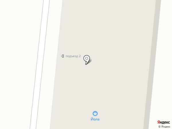 Железяка на карте Зеленодольска