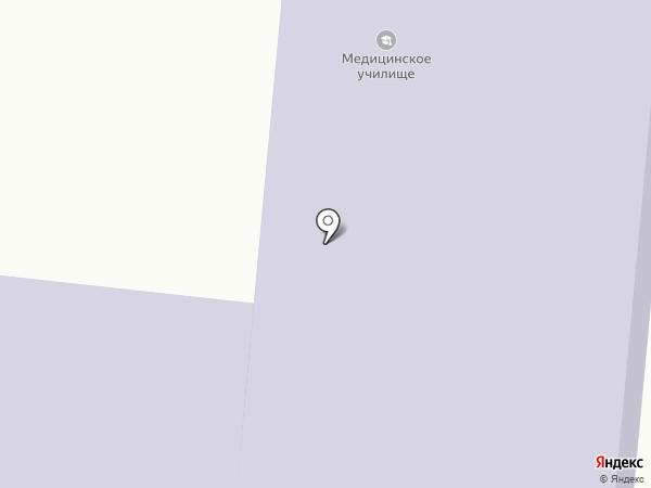 Зеленодольское медицинское училище на карте Зеленодольска