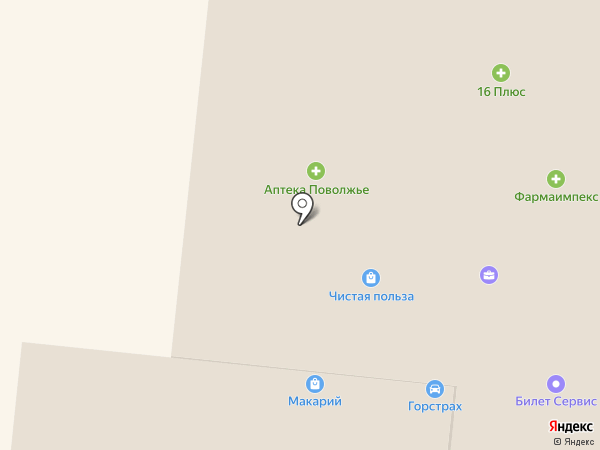 Магазин фруктов и овощей на Комсомольской на карте Зеленодольска