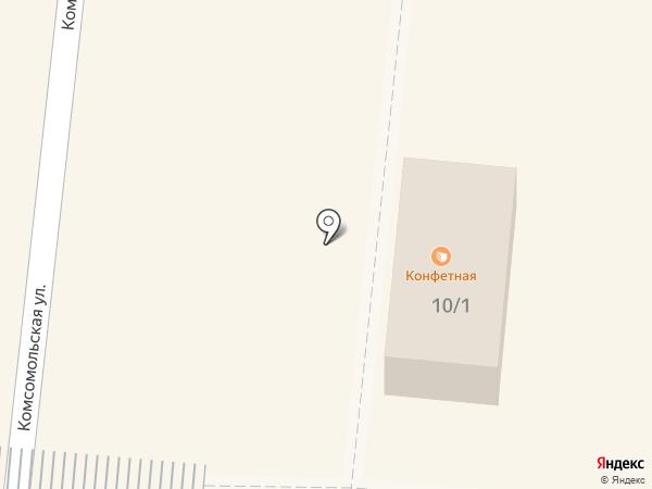 Акконд на карте Зеленодольска