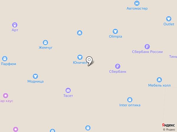 Аметист Exclusive на карте Зеленодольска