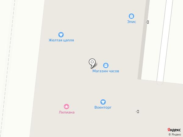 Элис на карте Зеленодольска