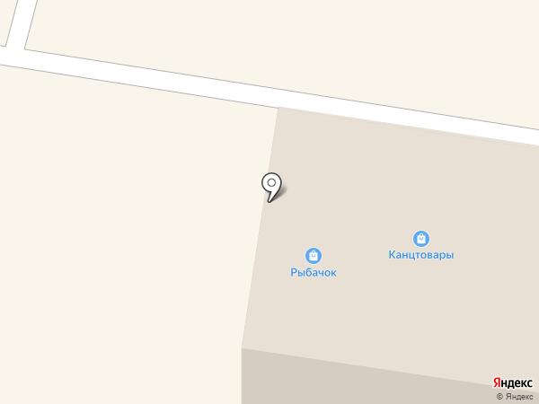 Рыбачок на карте Зеленодольска