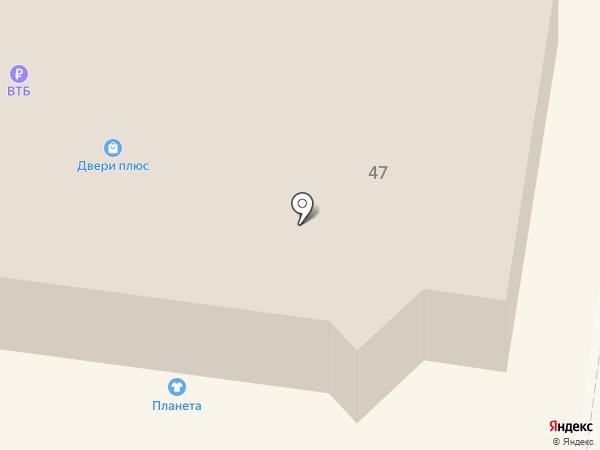 Банк ВТБ 24, ПАО на карте Зеленодольска