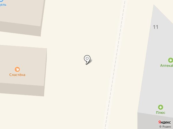 Мамонтенок на карте Зеленодольска