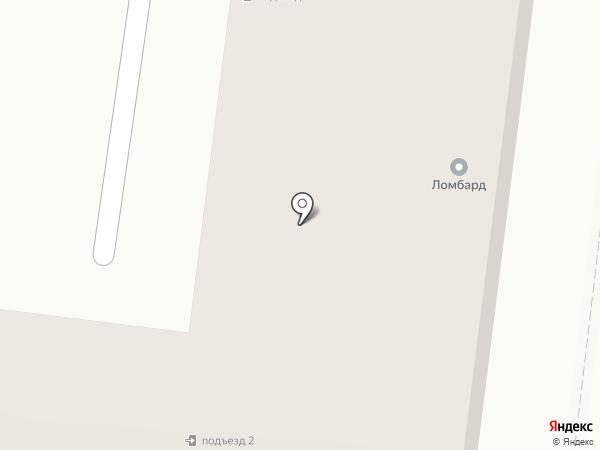 Золотой ломбард на карте Зеленодольска