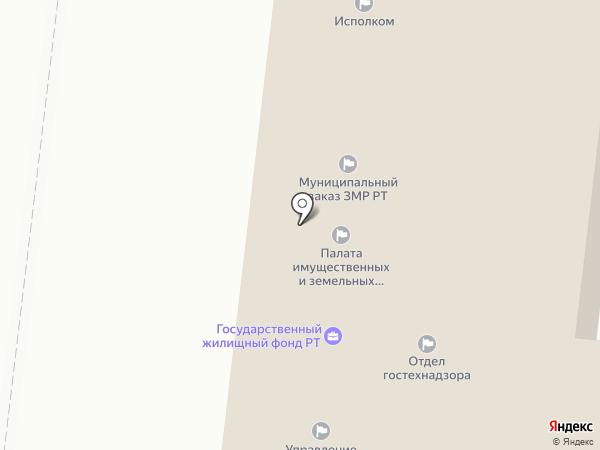 Дирекция муниципального заказа Зеленодольского муниципального района Республики Татарстан на карте Зеленодольска