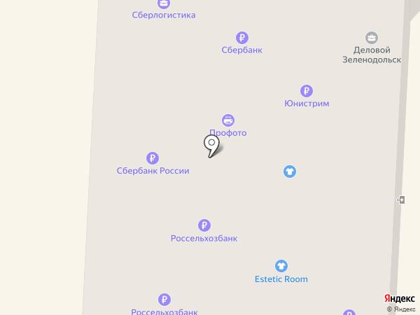 Клякса на карте Зеленодольска